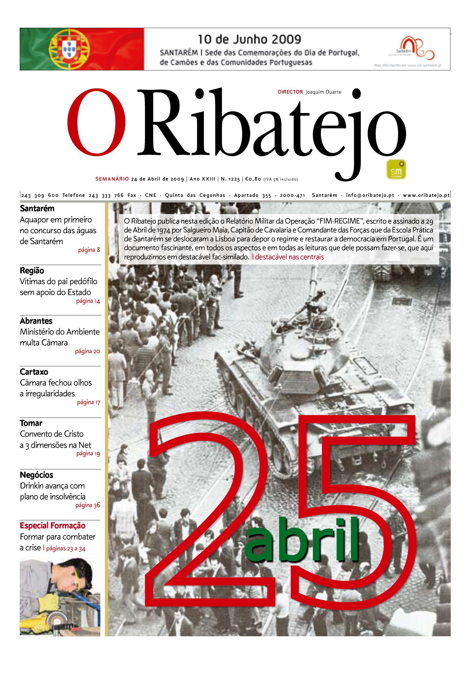 5cce659c58d6 Edição 1225 O Ribatejo by Jornal O Ribatejo - issuu