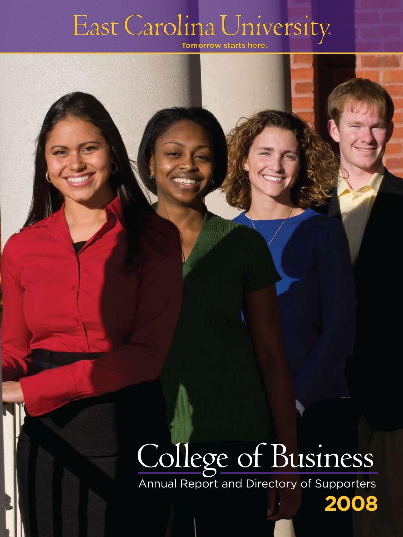 2008 COB Annual Report by East Carolina University - Issuu