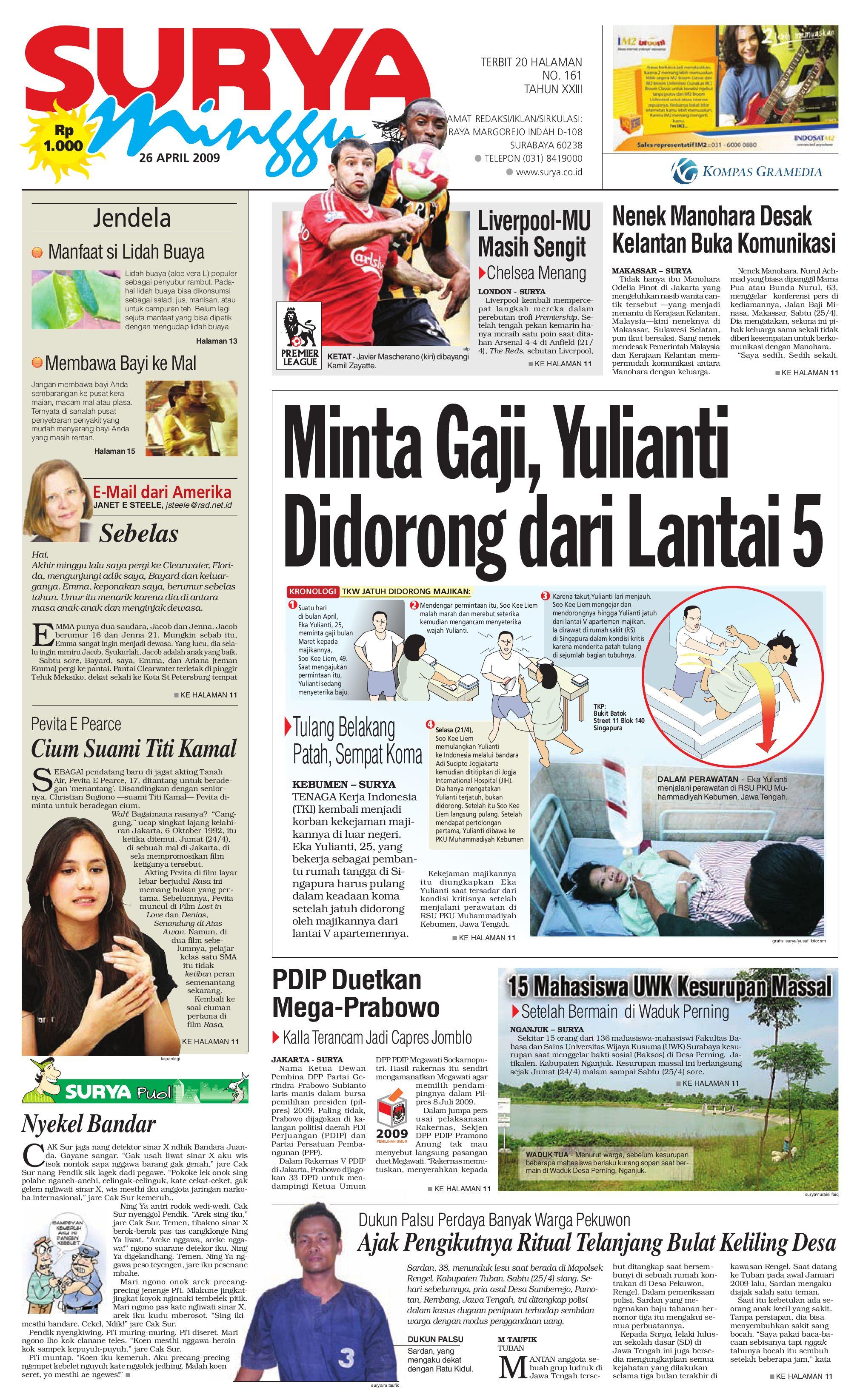 surya edisi cetak minggu 26 april 2009 by harian surya issuu