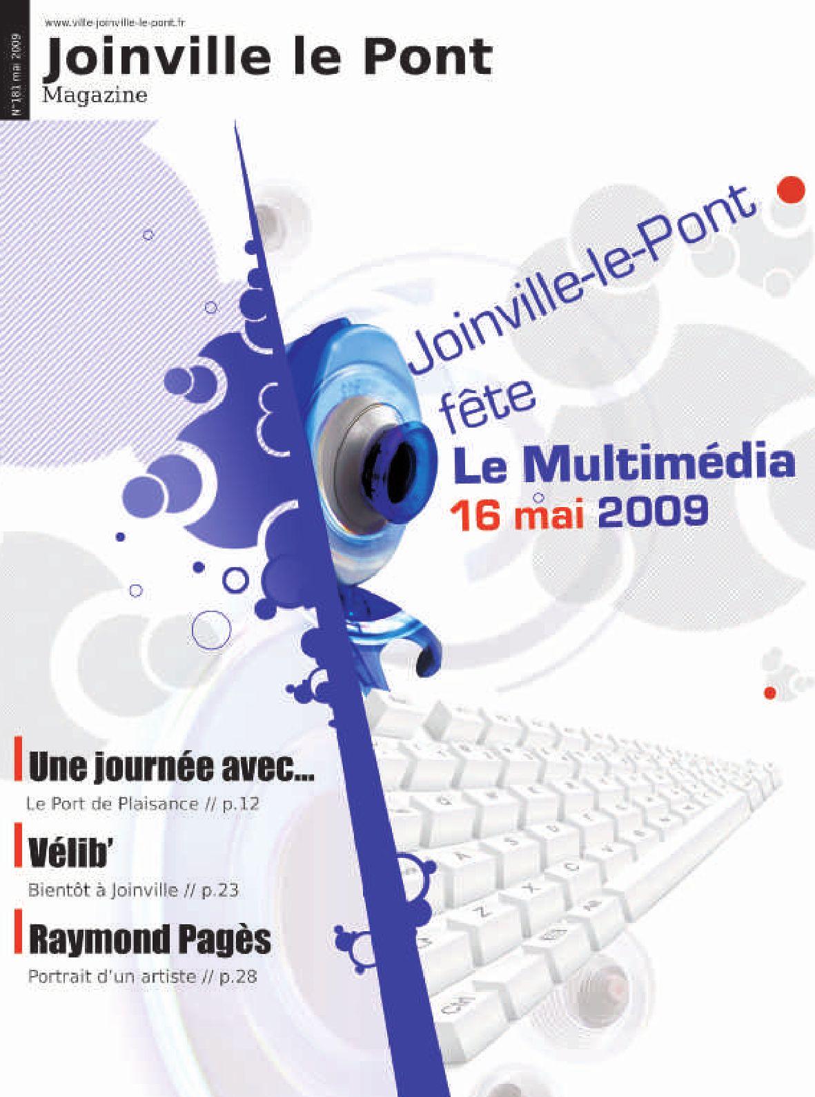 Joinville le pont magazine 181 mai09 by mairie de - Salon des gourmets joinville le pont ...
