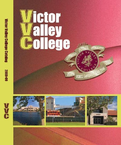 2008-2010 Victor Valley College Catalog by Justin Gatewood