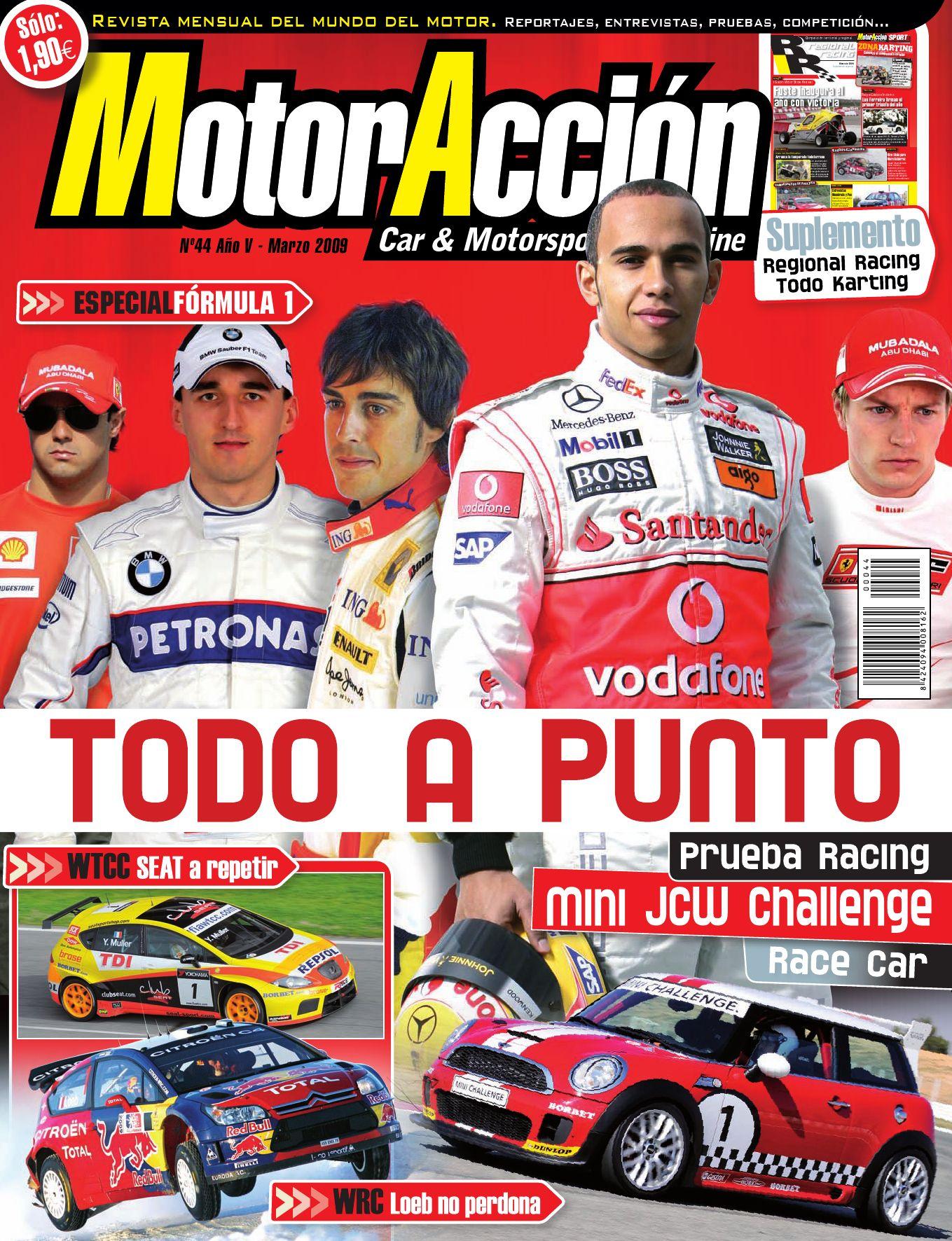 MotorAcción 44 (marzo 09) by Motoraccion Revista mensual - issuu