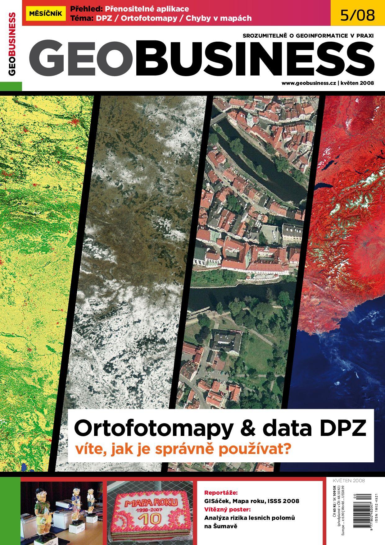 Geobusiness 5 2008 By Springwinter S R O Issuu