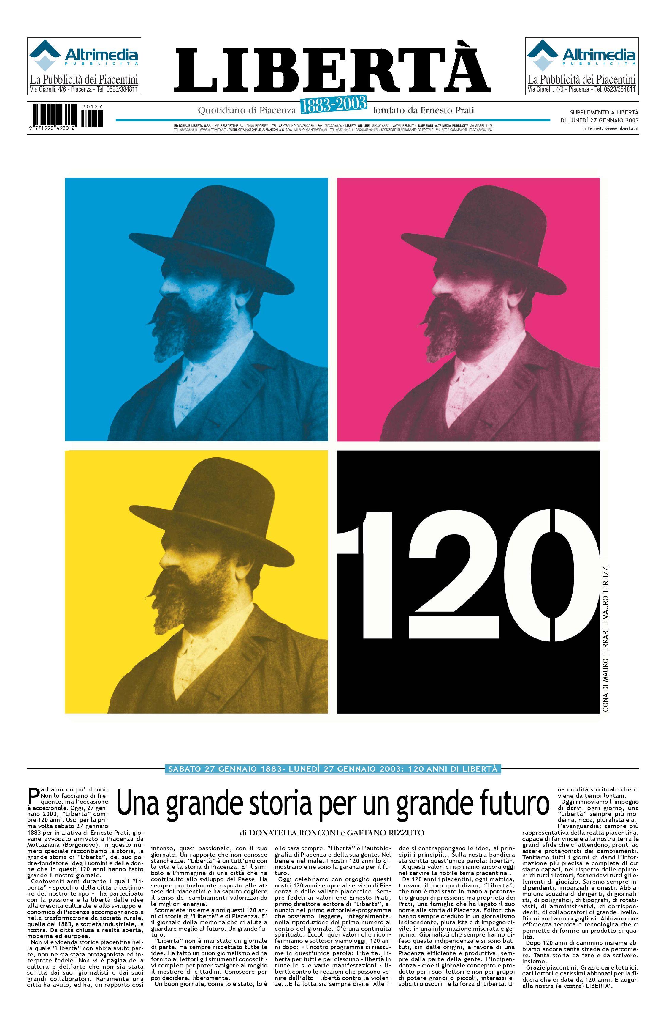 LIBERTA  - Speciale 120 anni by Liberta - issuu 3fc37901582d