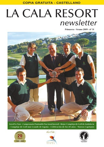 newest collection eb16a 49b0a Newsletter 31 - Primavera Verano 2009 - ESP - La Cala Resort