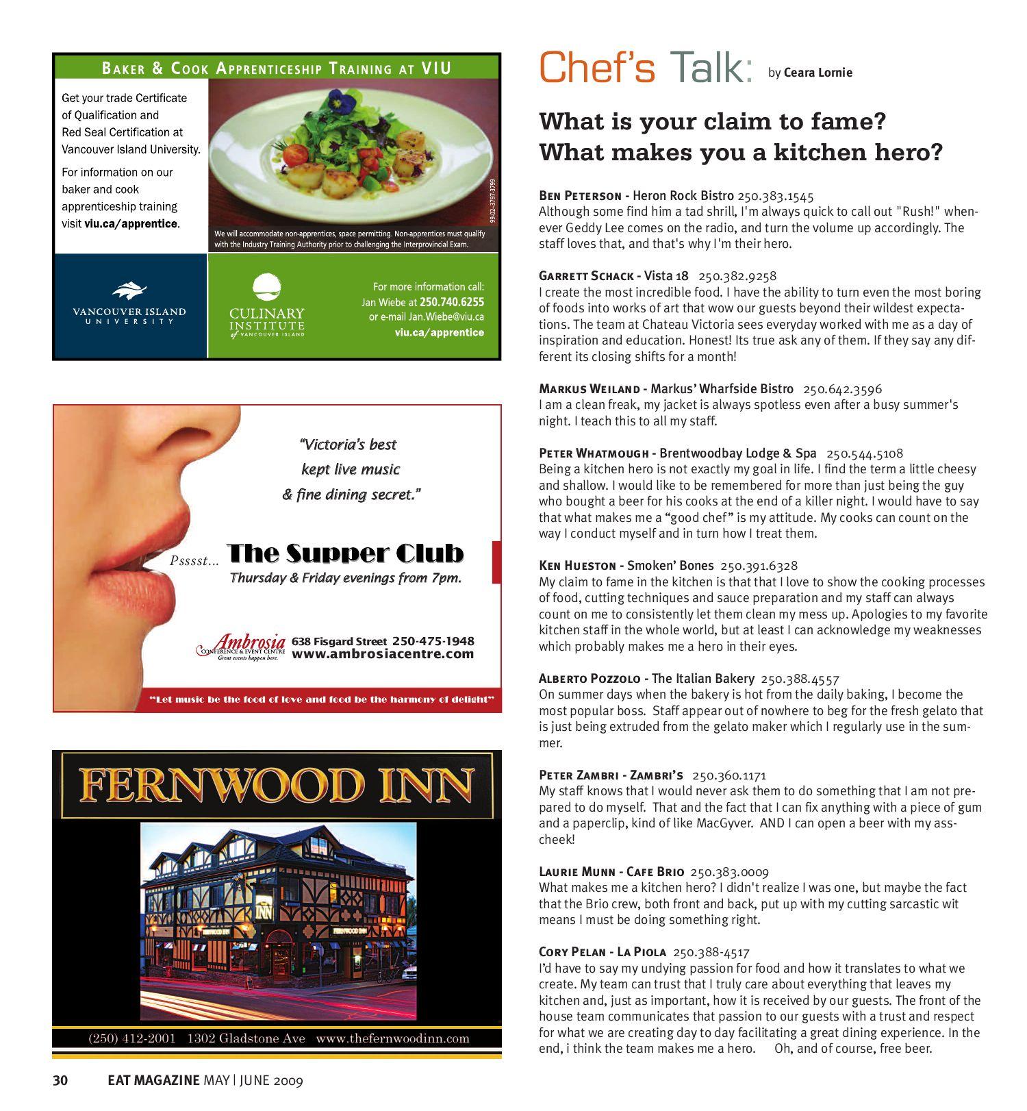 EAT Magazine May