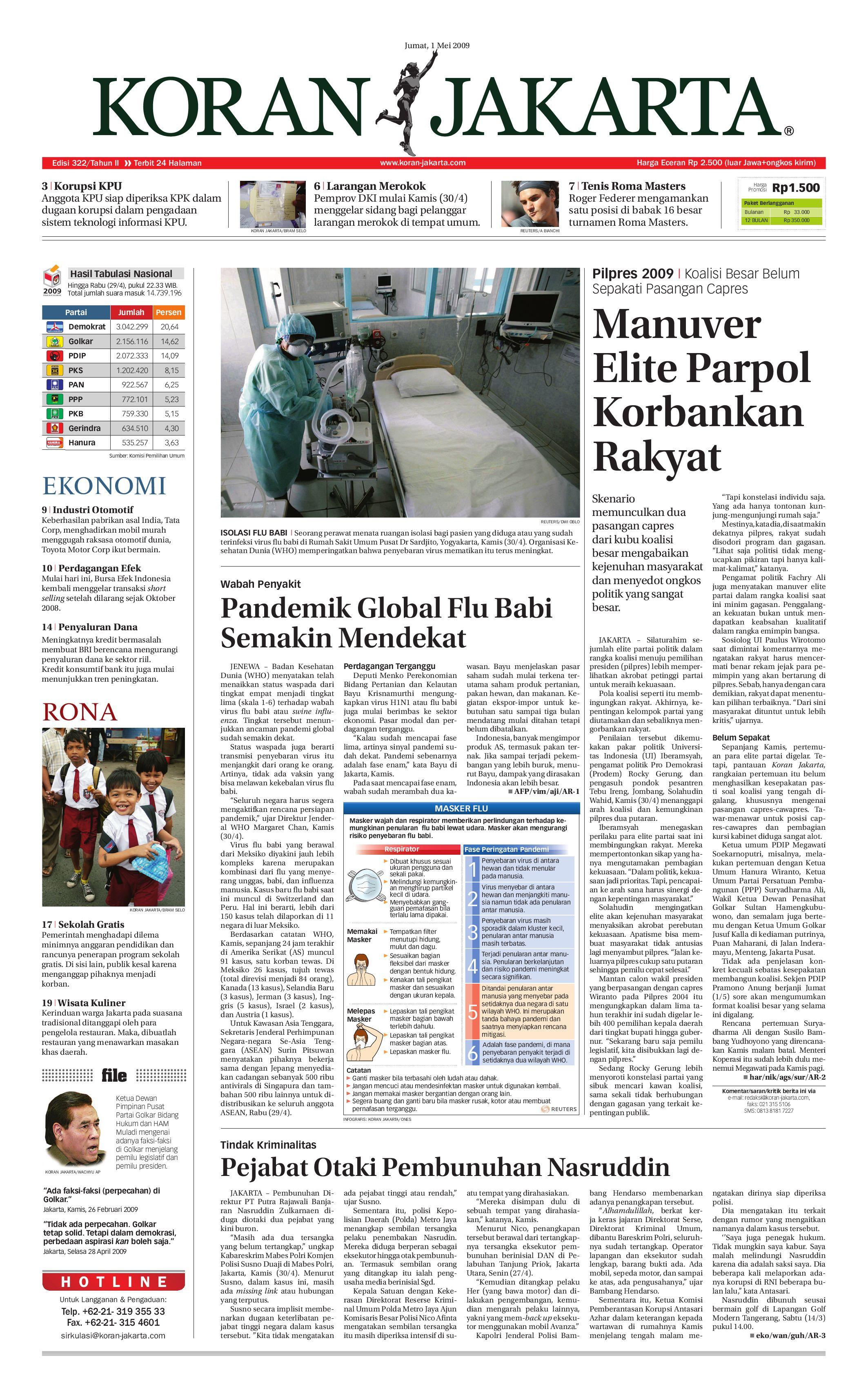 EDISI 322 - JUMAT - 01 MEI 2009 by PT. Berita Nusantara - issuu 401c0f7592