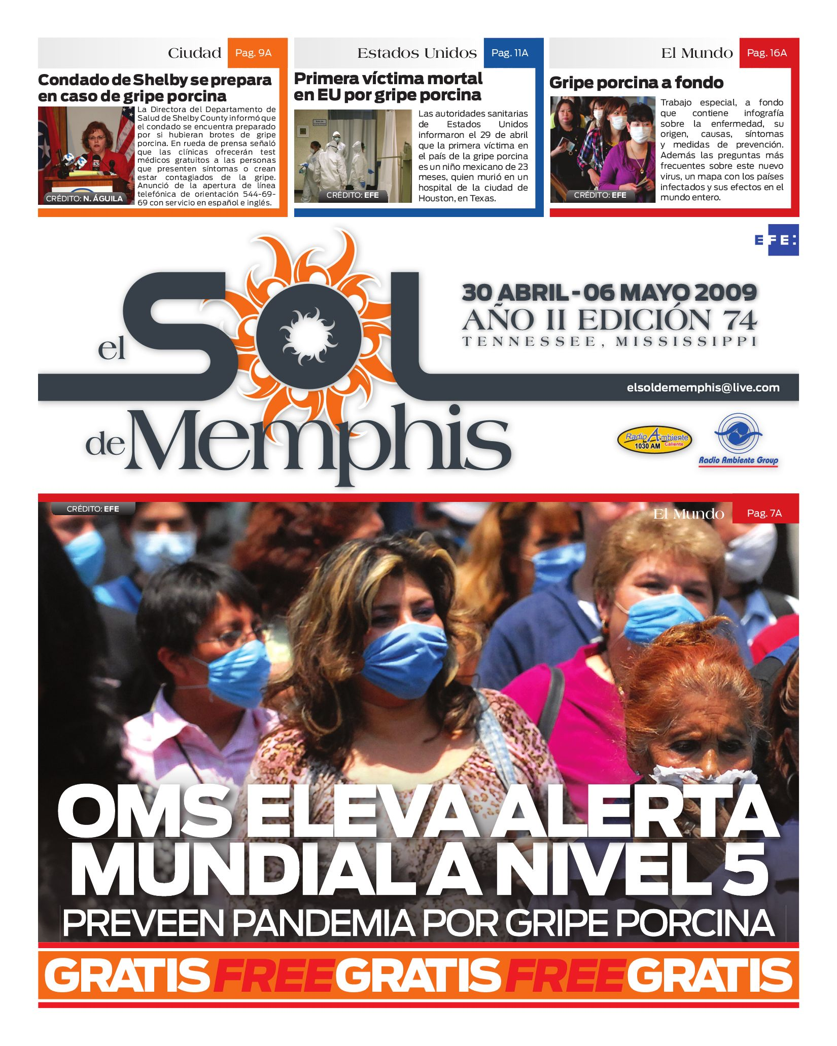 El Sol de Memphis by Nancy Águila - issuu