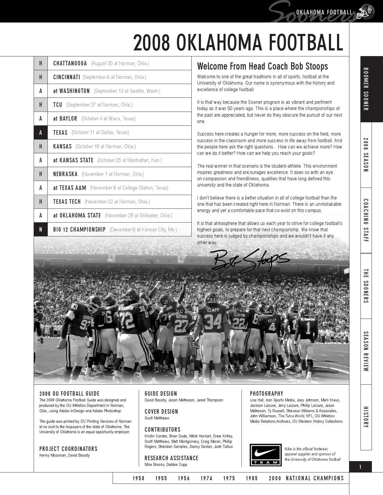 2008 OU Football Guide by OU Athletics - issuu 19f535e4c
