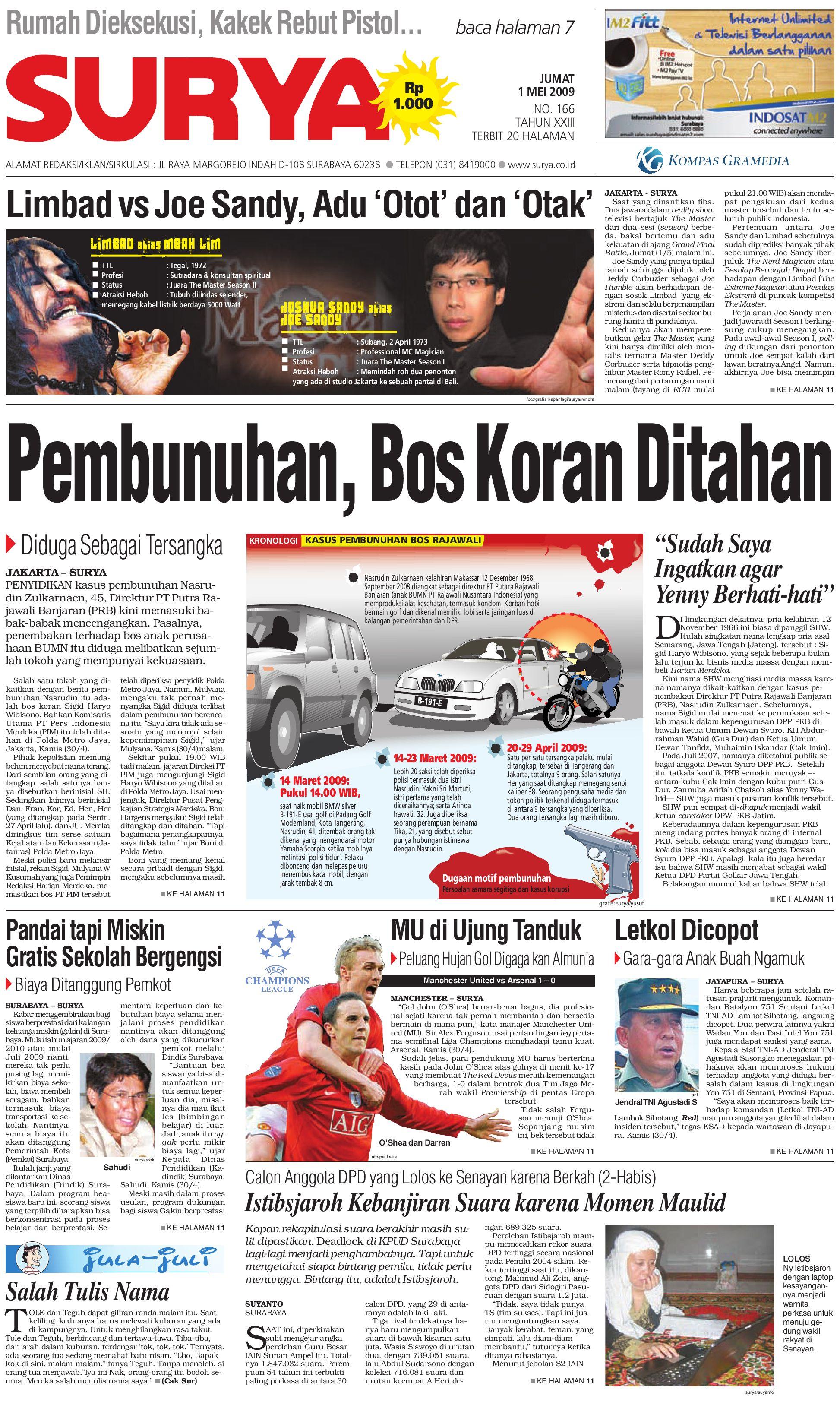 Surya Edisi cetal 01 Mei 2009 by Harian SURYA - issuu 2e332ed392