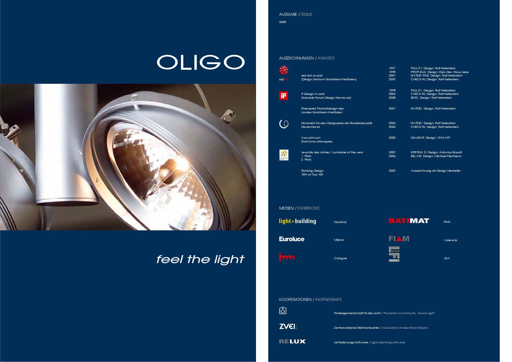 Oligo catalogue by Degtiaroff & Co - issuu