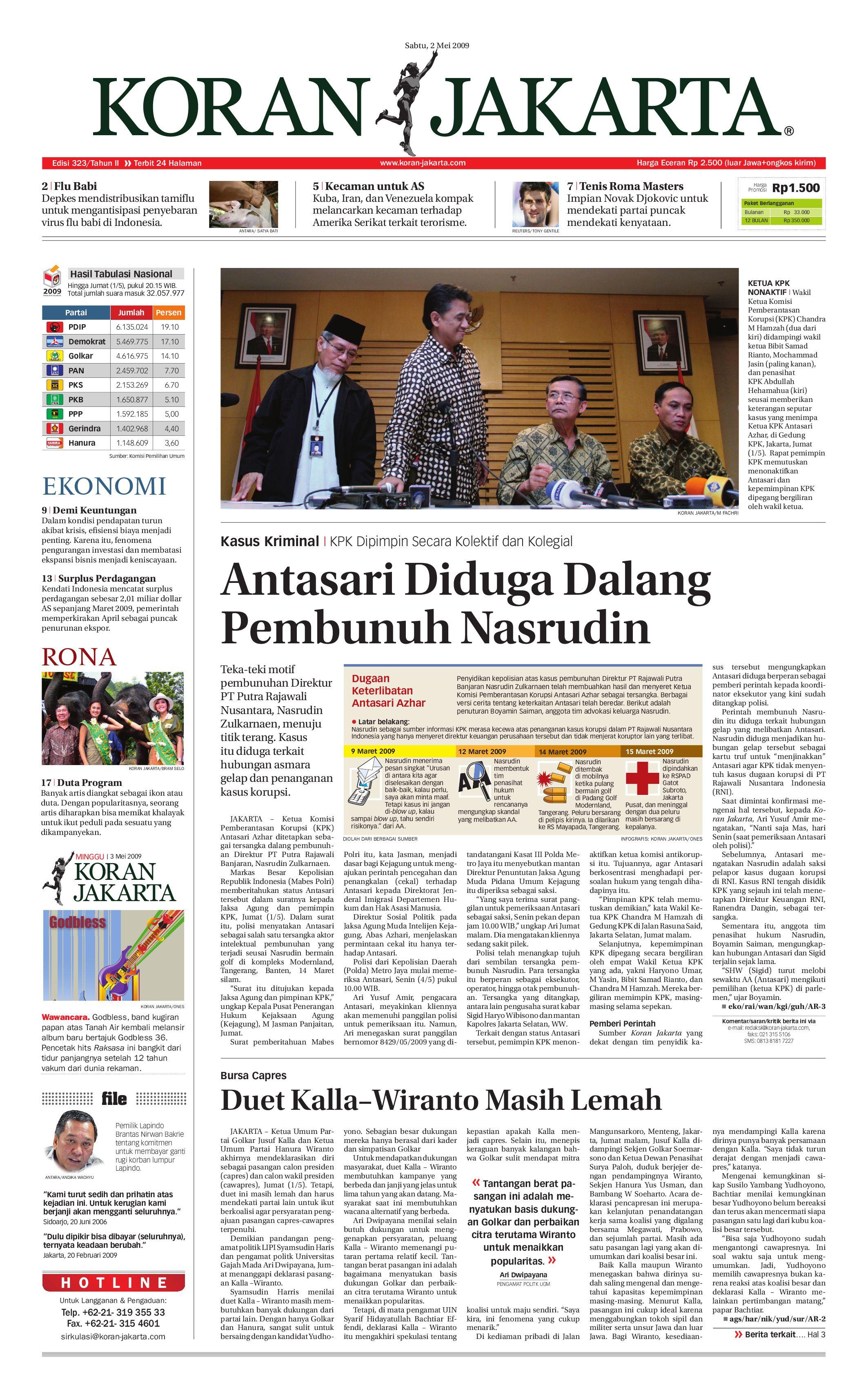 edisi 288 28 maret 2009 by pt berita nusantara issuu