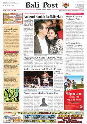 Bali Post Senin 4 Mei 2009 By E Paper Kmb Issuu