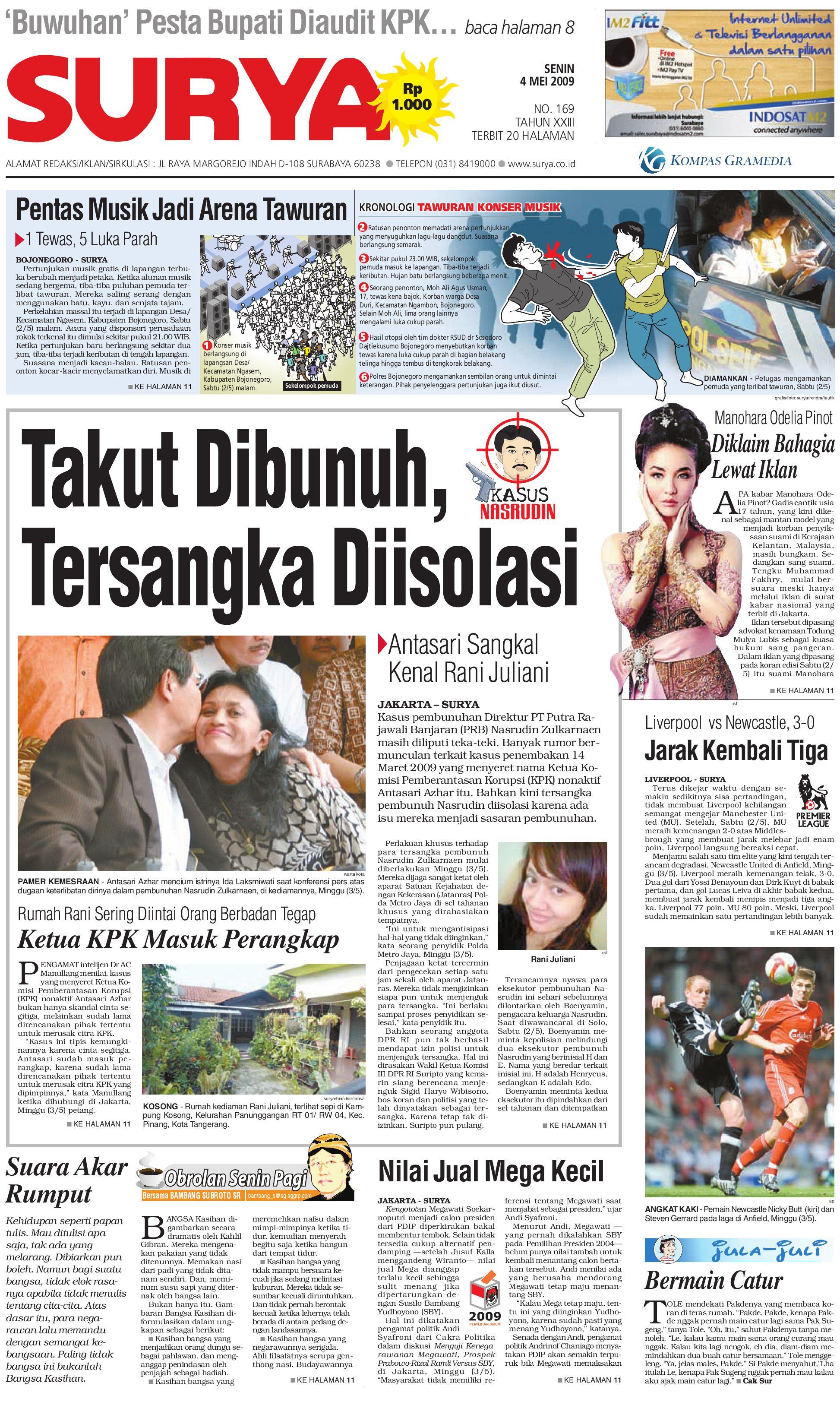 Surya Edisi Cetak 04 Mei 2009 By Harian Issuu Produk Ukm Bumn Chesse Pie Khas Balikpapan
