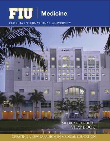 fiu medical student view book college