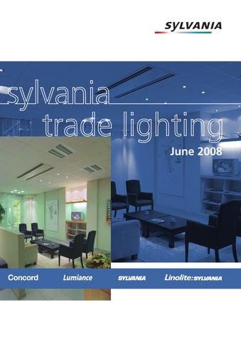 Sylvania Trade Lighting Catalogue By Paul Atkins Issuu