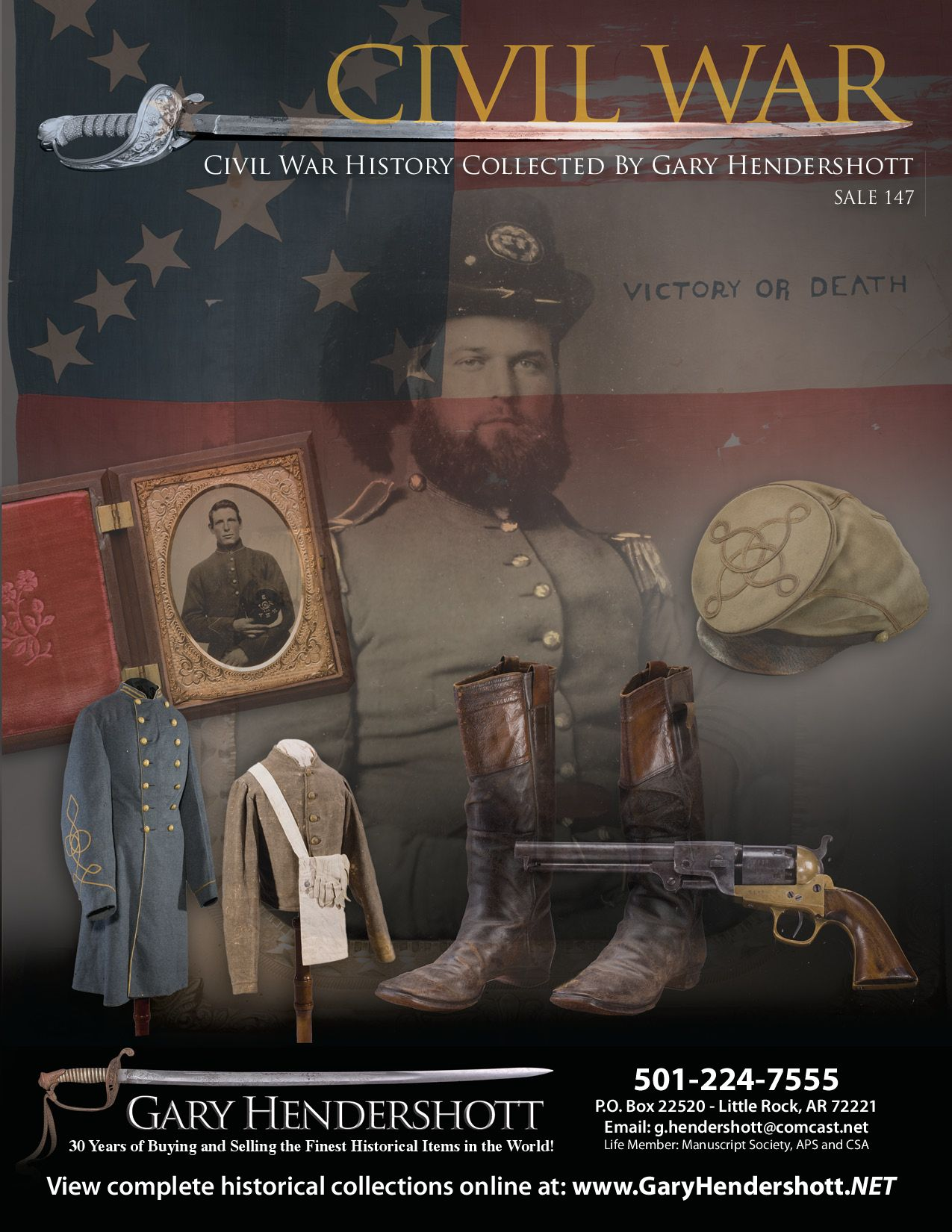 Civil War History - sale 147 by Kyle Holmes - Dreamedia