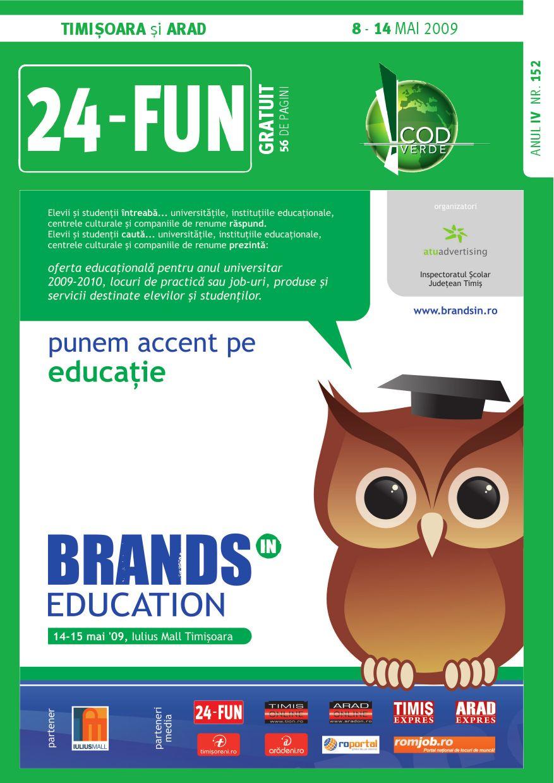24fun Timisoara Arad Nr 152 8 14 Mai By Atu Advertising Issuu