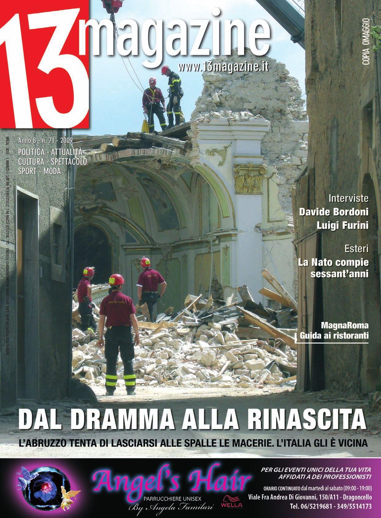 13 Magazine Aprile 2009 by Visioni Grafiche srl - issuu 37594a95d1e