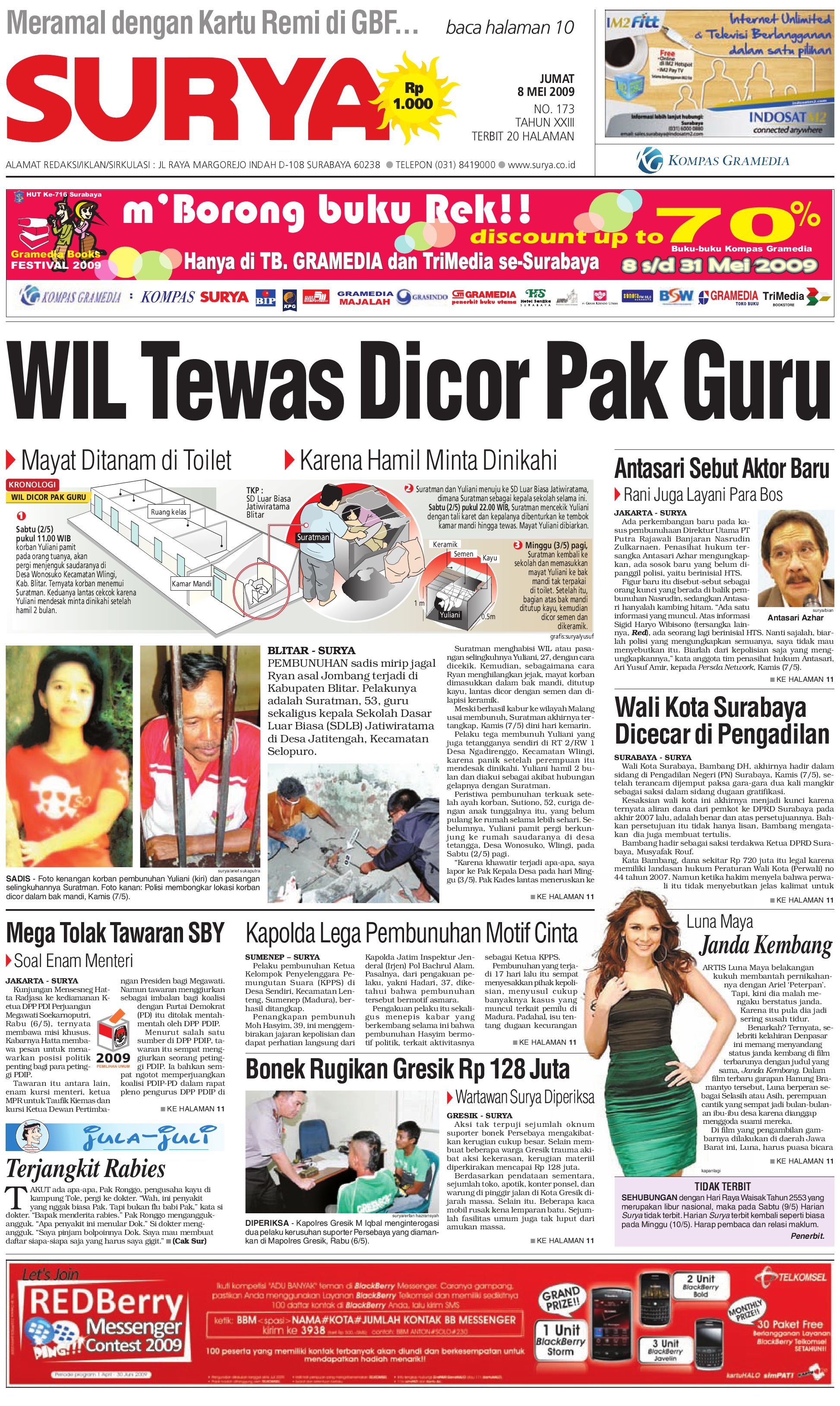 Surya edisi Cetak 08 Mei 2009 by Harian SURYA - issuu fe4a2254b2