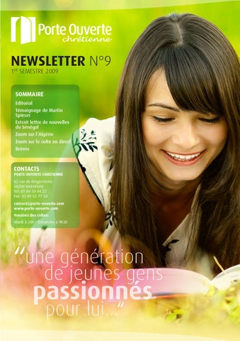 Newsletter 9 by porte ouverte issuu - Culte en direct porte ouverte mulhouse ...