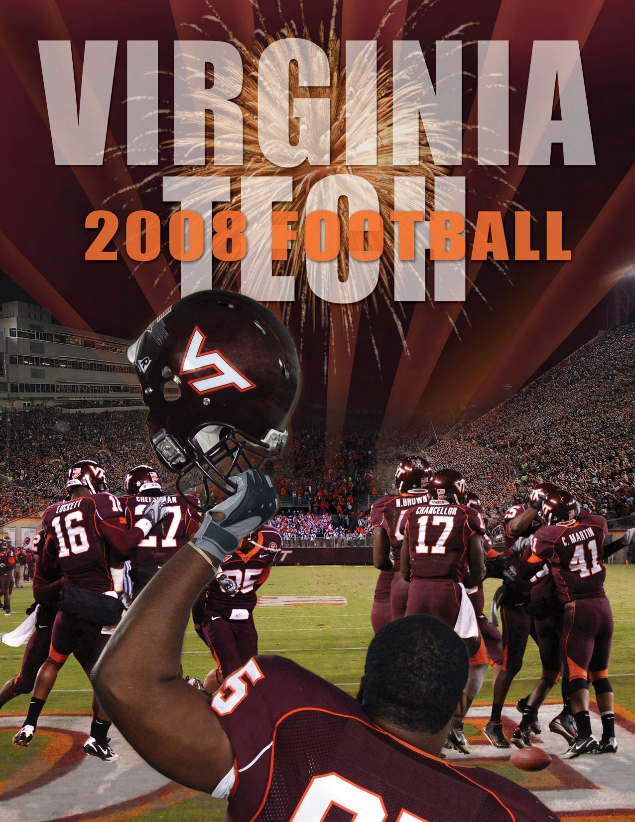 356bf6148 2008 Football Media Guide by Virginia Tech Athletics - issuu