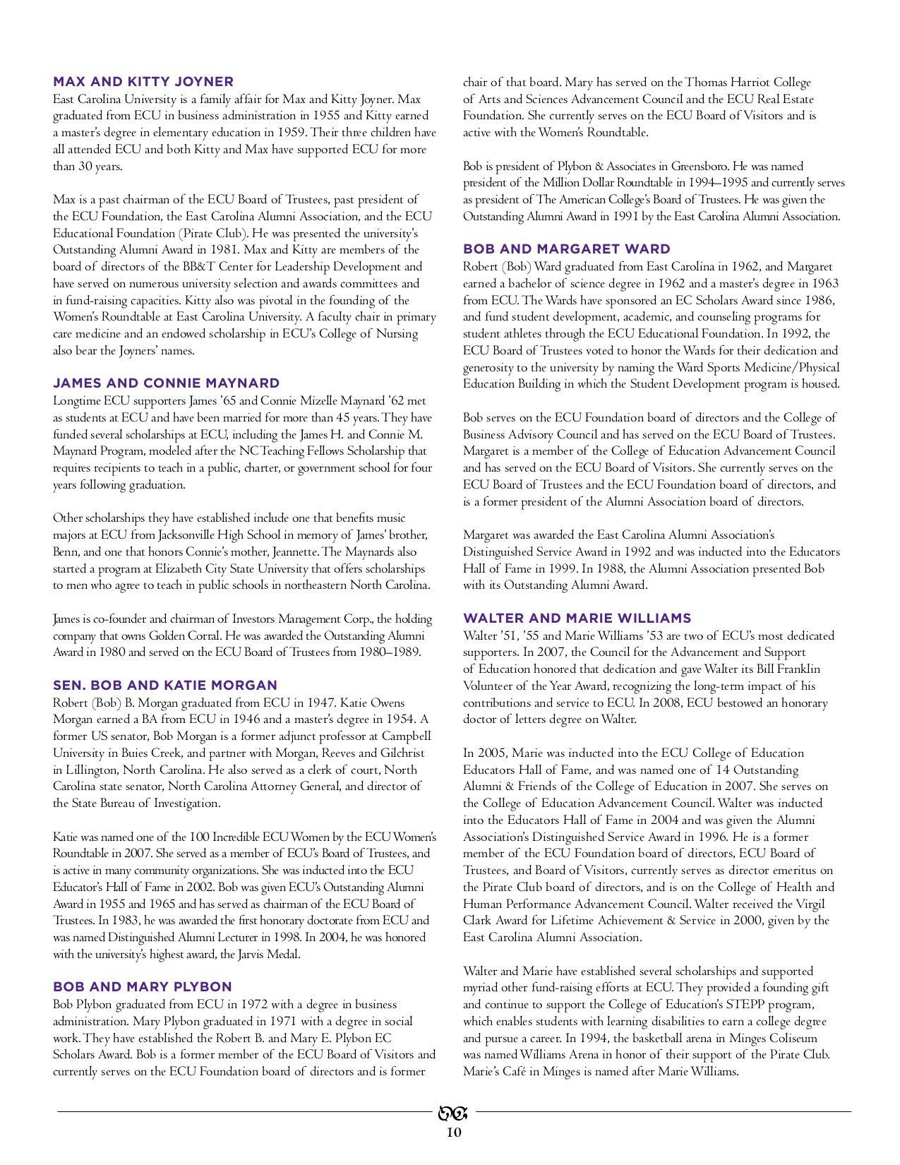 Ecu Foundations Annual Report 2007 2008 By East Carolina University