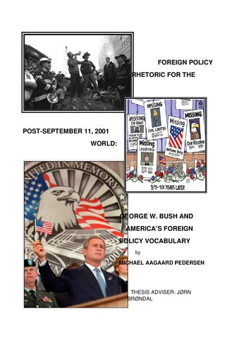 the frontier thesis and american foreign policy Historian fredrick jackson turner's frontier thesis stated explicitly that the existence of the western frontier forged the very basis of the american identity although there was no more room for these forces to proceed domestically, they would continue to find an outlet on the international stage.