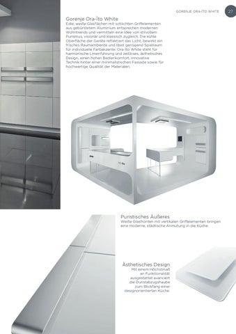 Gorenje Ger Designplus 2009 Brochure By Gorenje D D Issuu