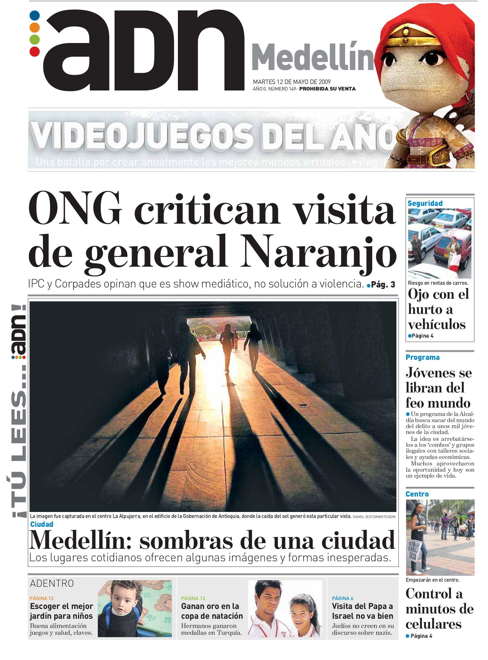 ADN MEDELLIN MAYO 12 by Casa Editorial El Tiempo - issuu
