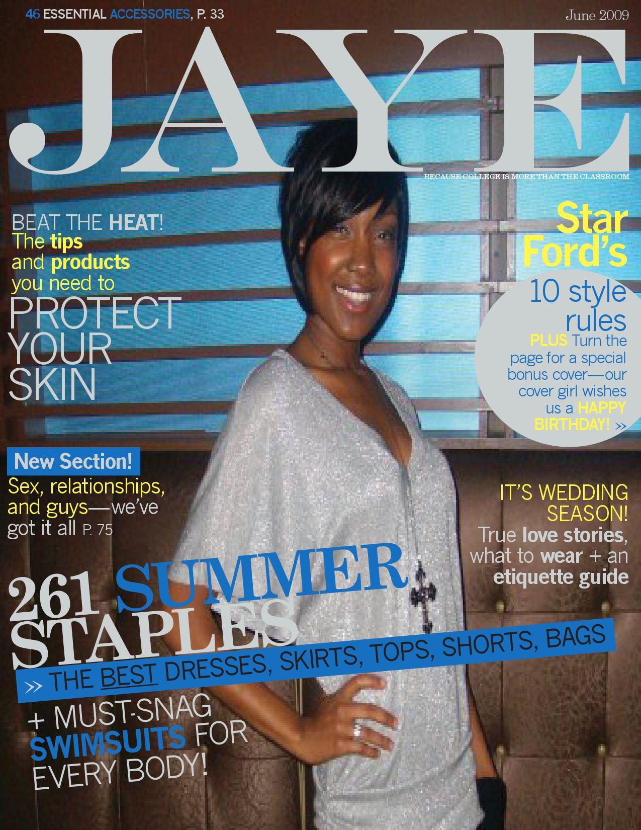 Jaye Magazine June 2009 By Jaye Magazine Issuu