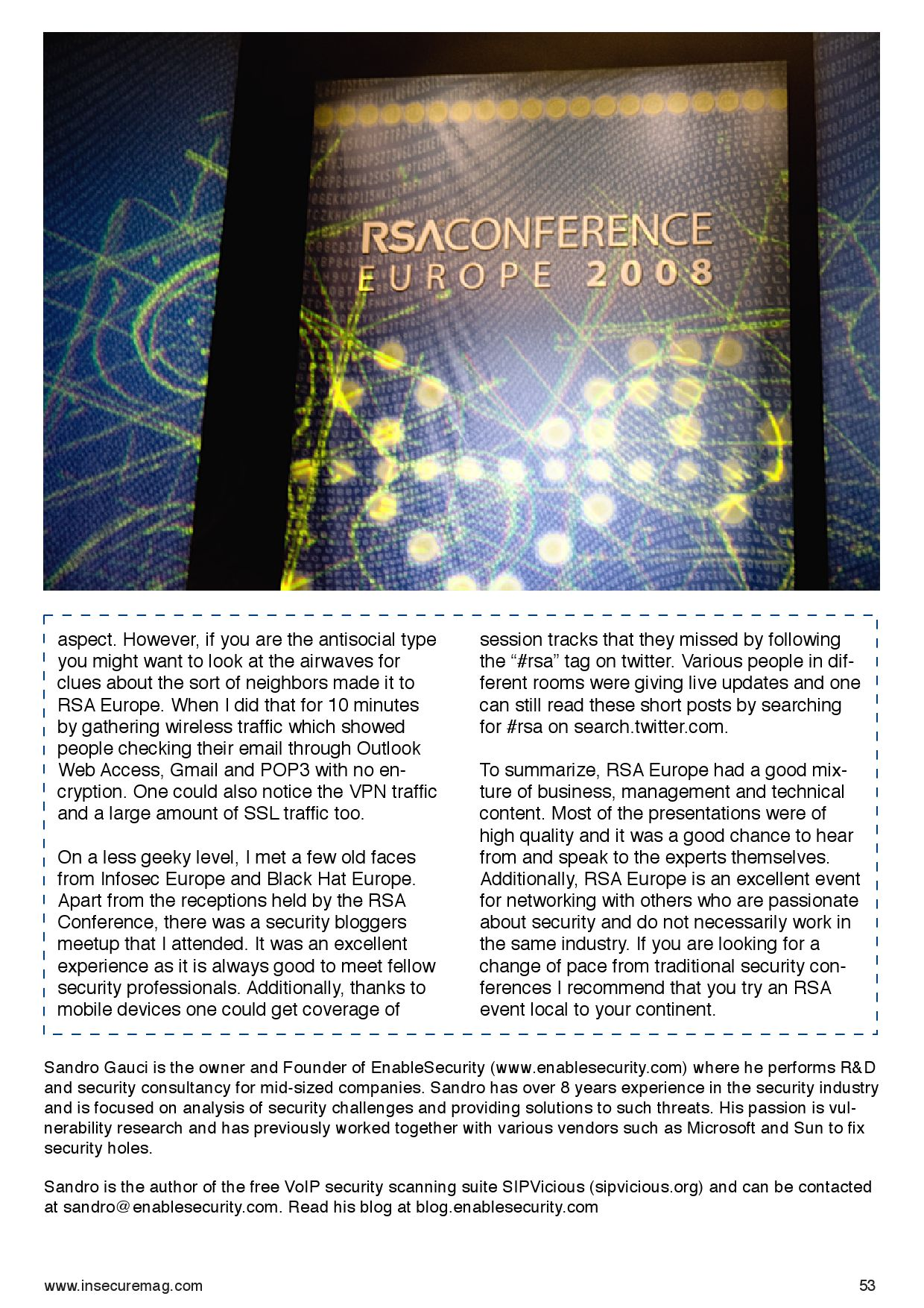 (IN)SECURE Magazine 19