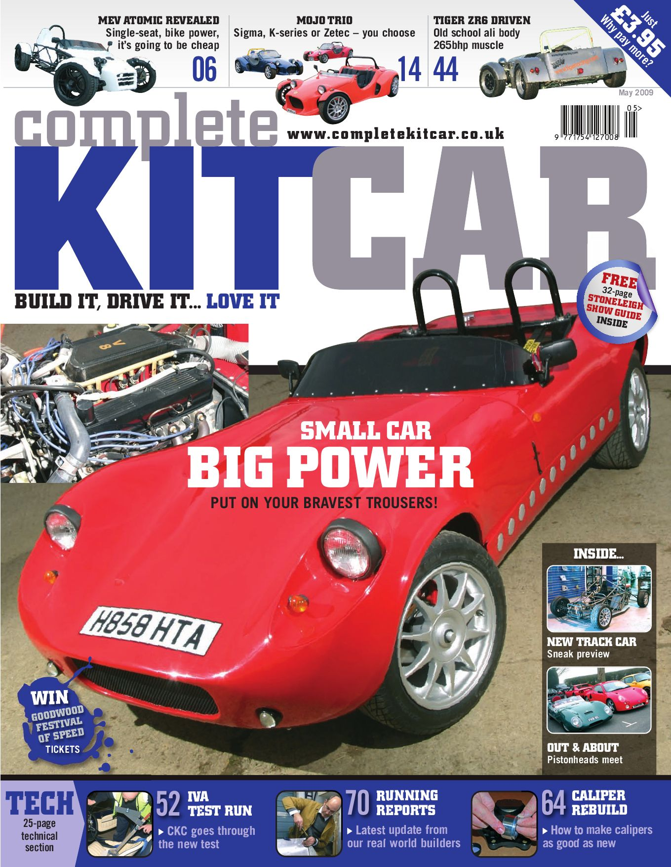 Complete Kit Car magazine May 2009 Advertising Preview by ...
