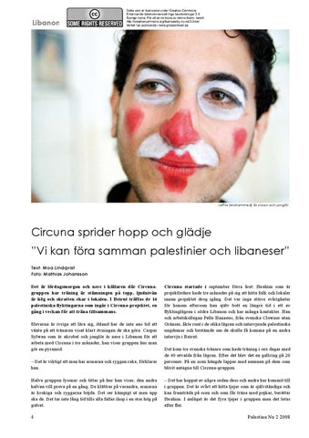 Inga clowner till libanon