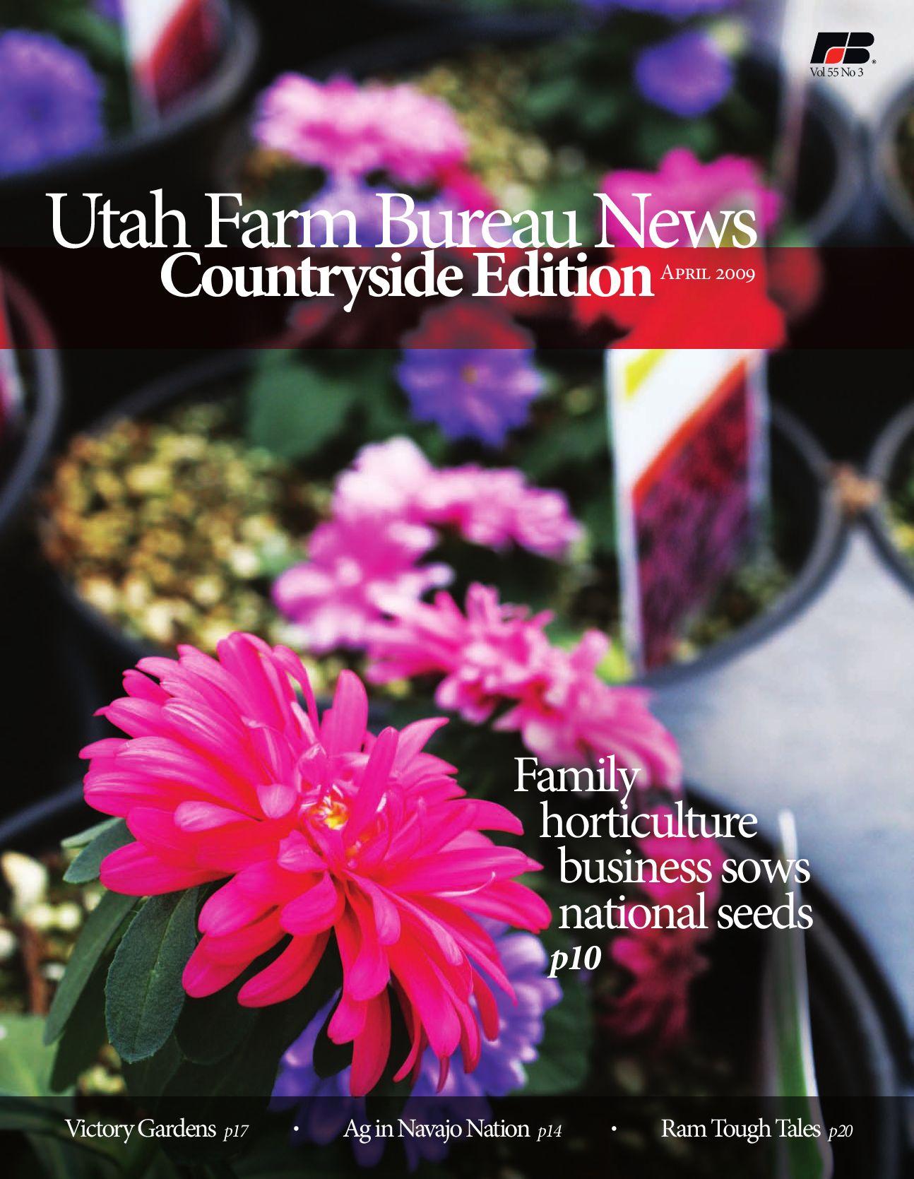 April 2009 Utah Farm Bureau News by Utah Farm Bureau Federation issuu
