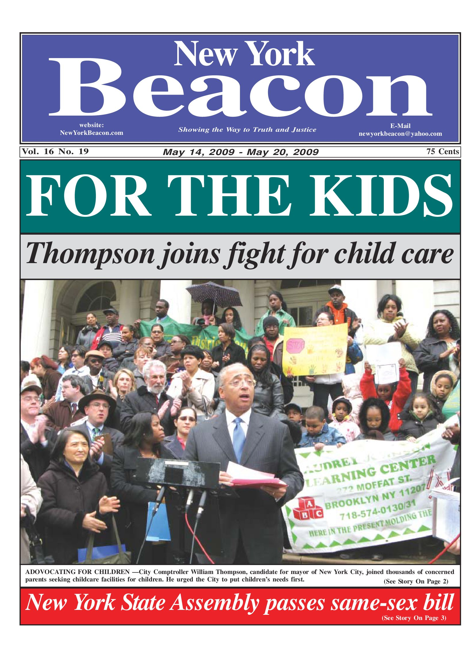 THOMPSON IN THE BEACON by Bill Thompson - issuu