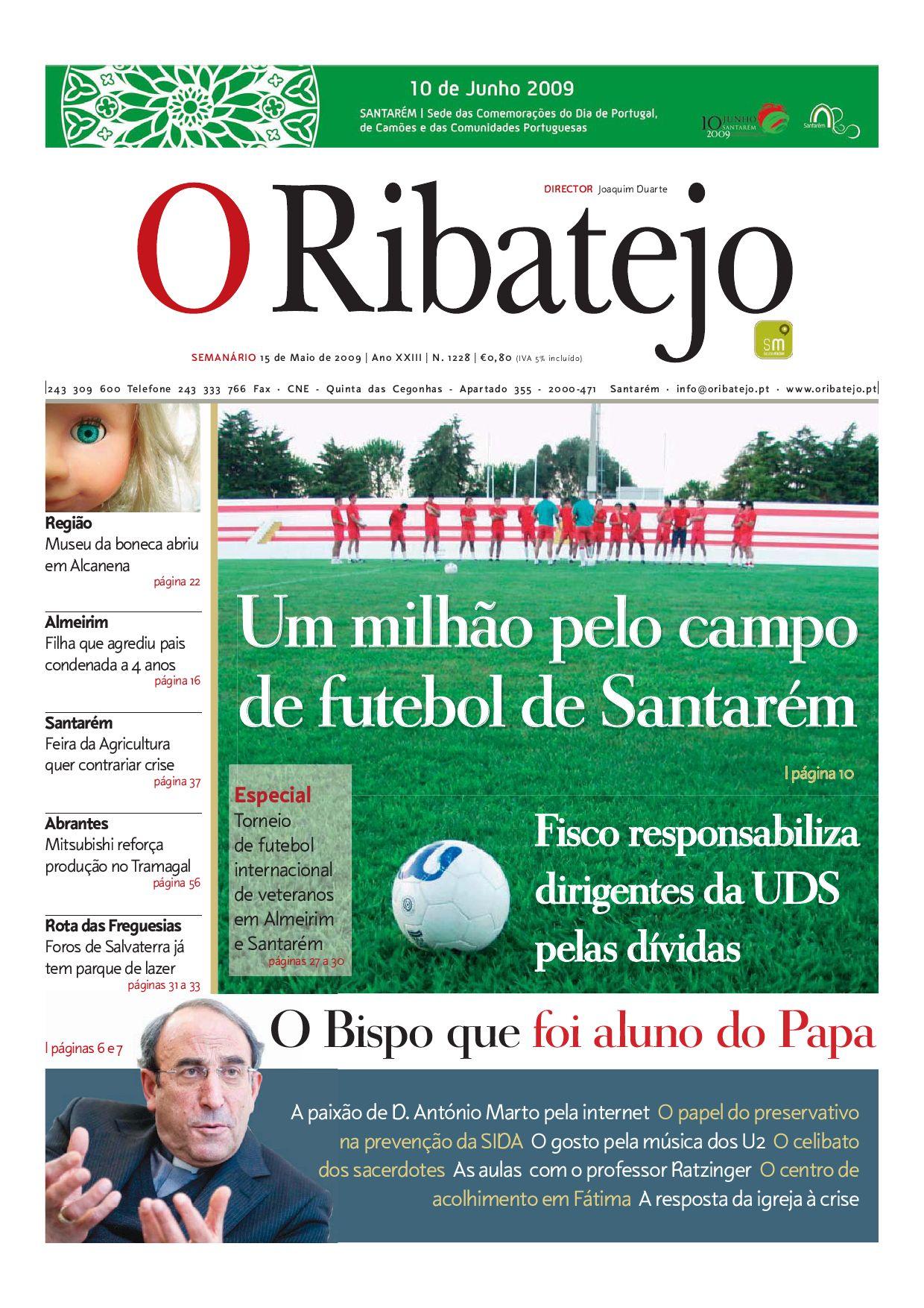 d621fc6554e Edição 1228 by Jornal O Ribatejo - issuu