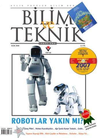 Bilim Ve Teknik Ocak 2008 By Okay Oky Issuu