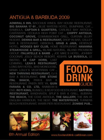 Food And Drink Guide Antigua 2009 by Leeward Consultants - issuu fcef7e00d