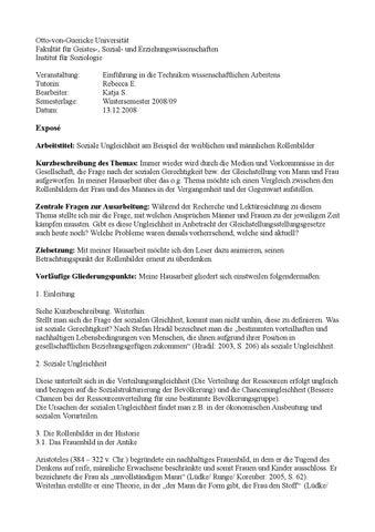 page 1 - Seminararbeit Einleitung Beispiel