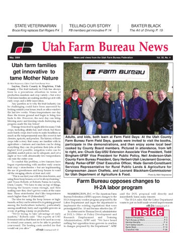 b9d064b87 March 07 paper by Utah Farm Bureau Federation - issuu