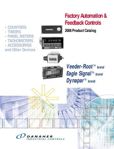 danaher digital instrumentation catalog by anderson controls rh issuu com 5 Pin Relay Wiring Diagram Intermatic T104R Wiring-Diagram