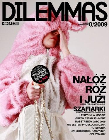 c68f9604f23d3 Dilemmas Magazine   maj 09 by Word Mind Magdalena Daniluk - issuu