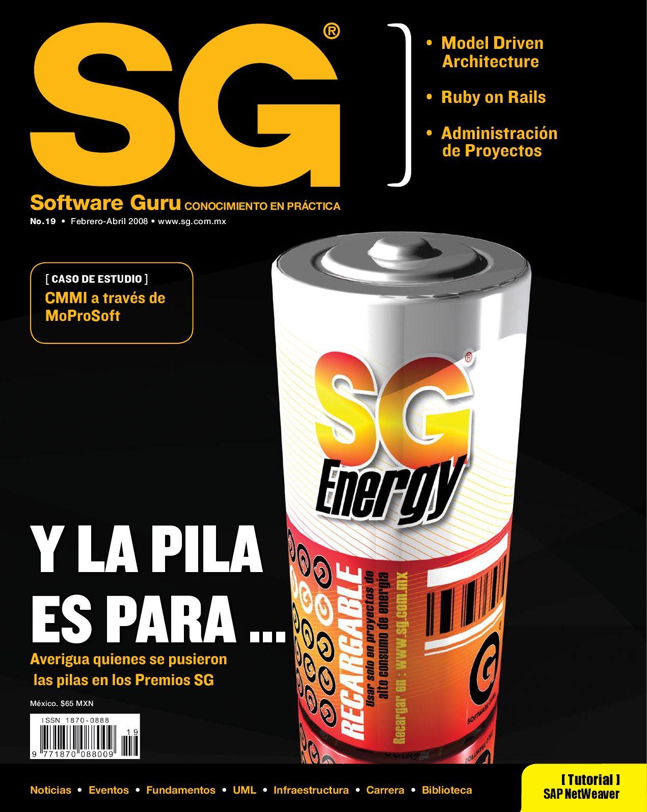SG19 (Febrero-Abril 2008) by Revista Software Guru - issuu