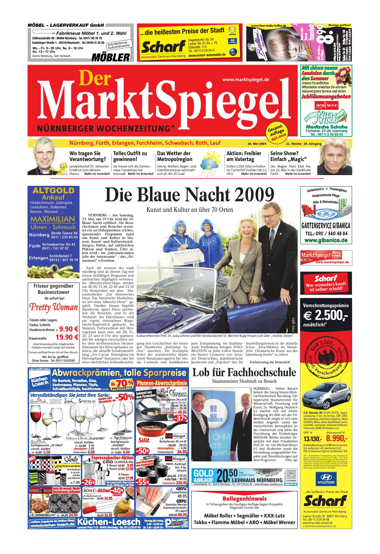 f26fa0de81 Der MarktSpiegel KW21 09 by A Kreklau - issuu