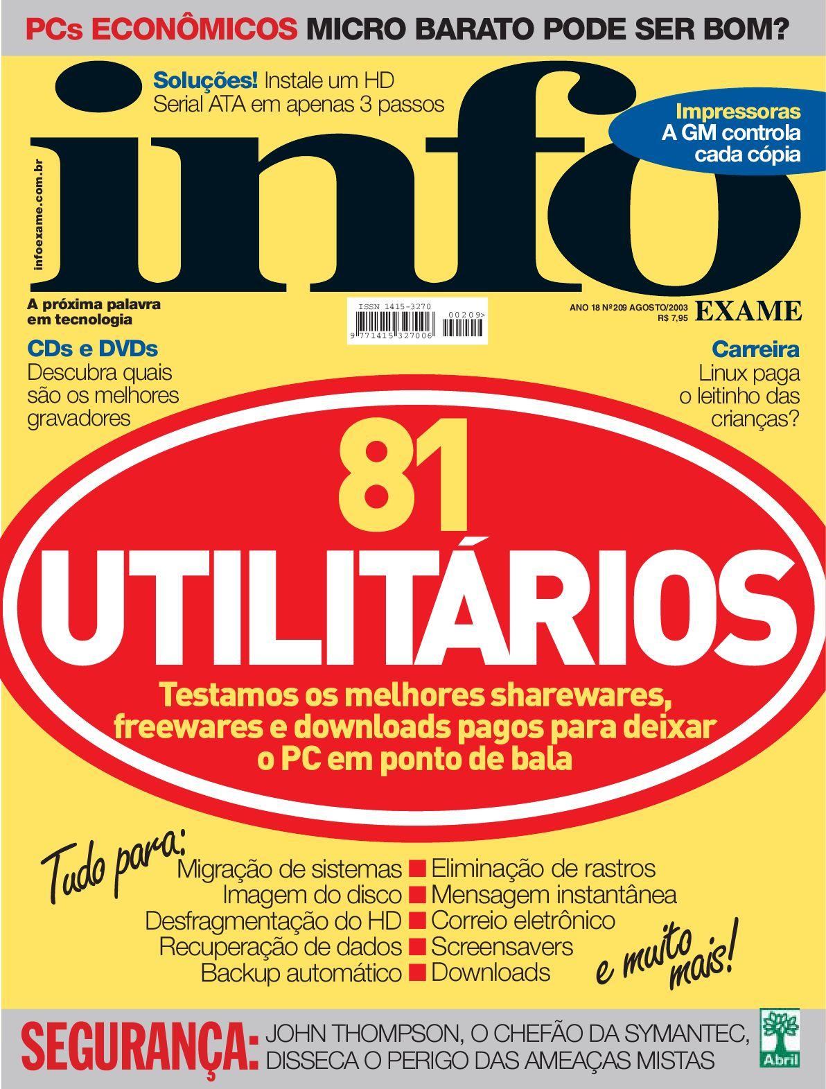 INFO - Ago 2003 by Revista INFO - issuu 8bb9215f036a8