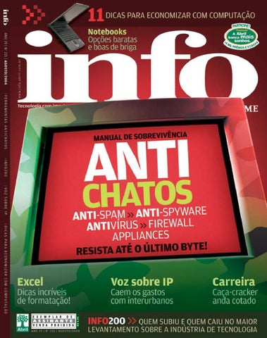 fad5af1c6 INFO - Ago 2004 by Revista INFO - issuu