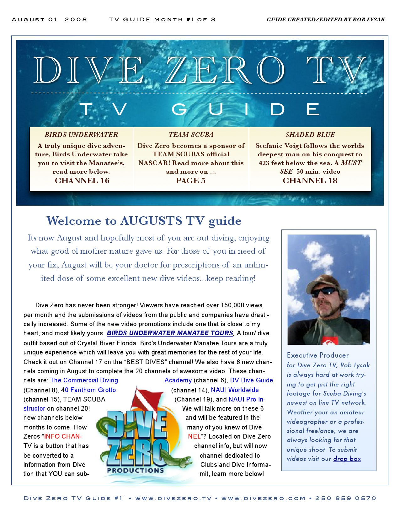 tv guide_Aug 1 by Dive Zero Productions - issuu