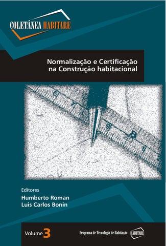38c4a24447861 Coletânea 3 Normalização e certificação na construção habitacional ...