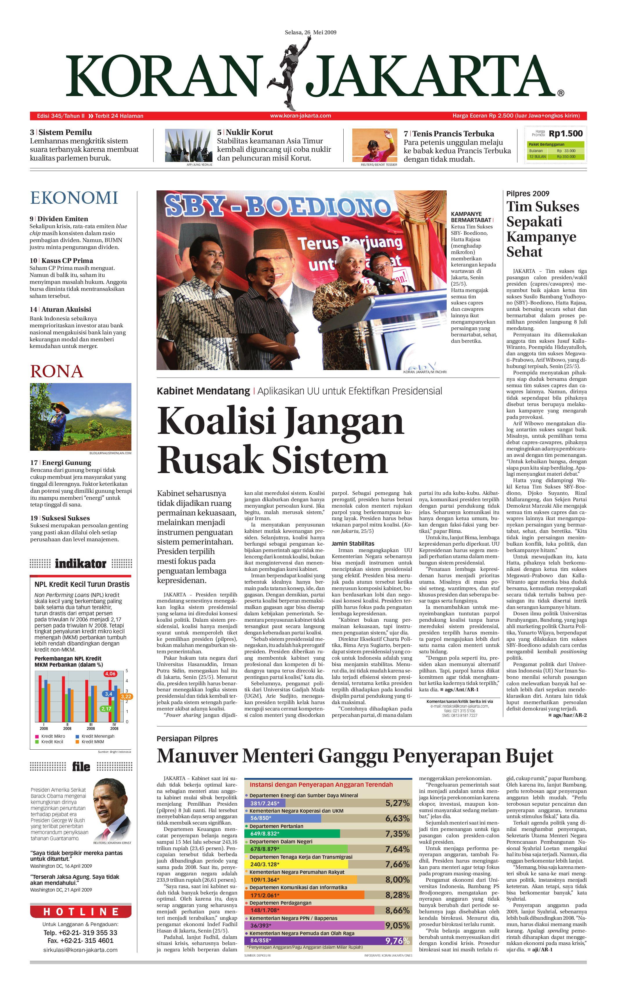 Edisi 345 Selasa 26 Mei 2009 By Pt Berita Nusantara Issuu Produk Ukm Bumn Philips Essential 18w